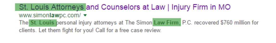 Law Firm Web Marketing